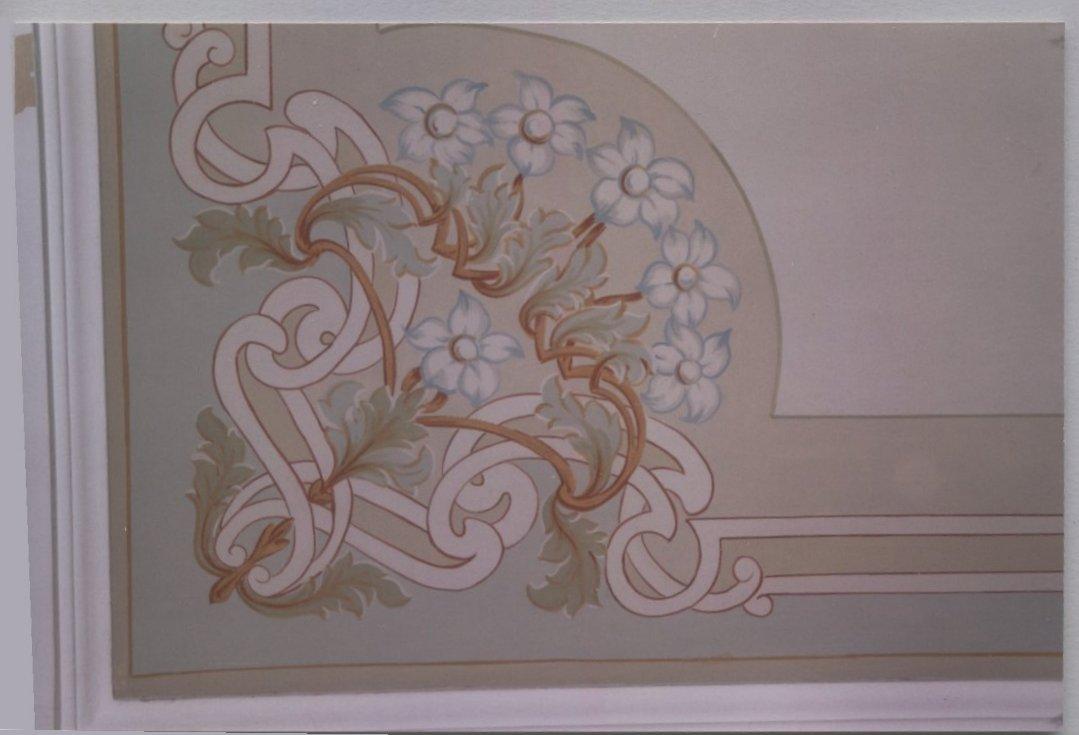 Soffitti decorati stile liberty casamia idea di immagine - Soffitti decorati ...